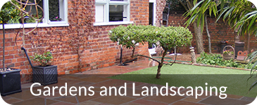 Landscaping and Garden Work Chesterfield