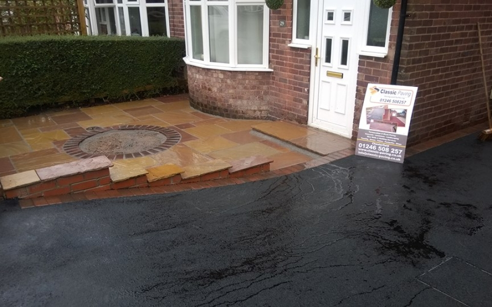 Tarmac Driveway After Installation