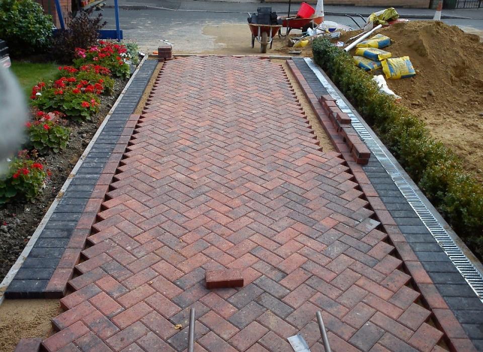 Block Paving Install Mansfield