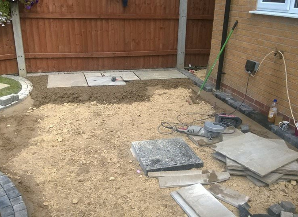Patio Landscaping New