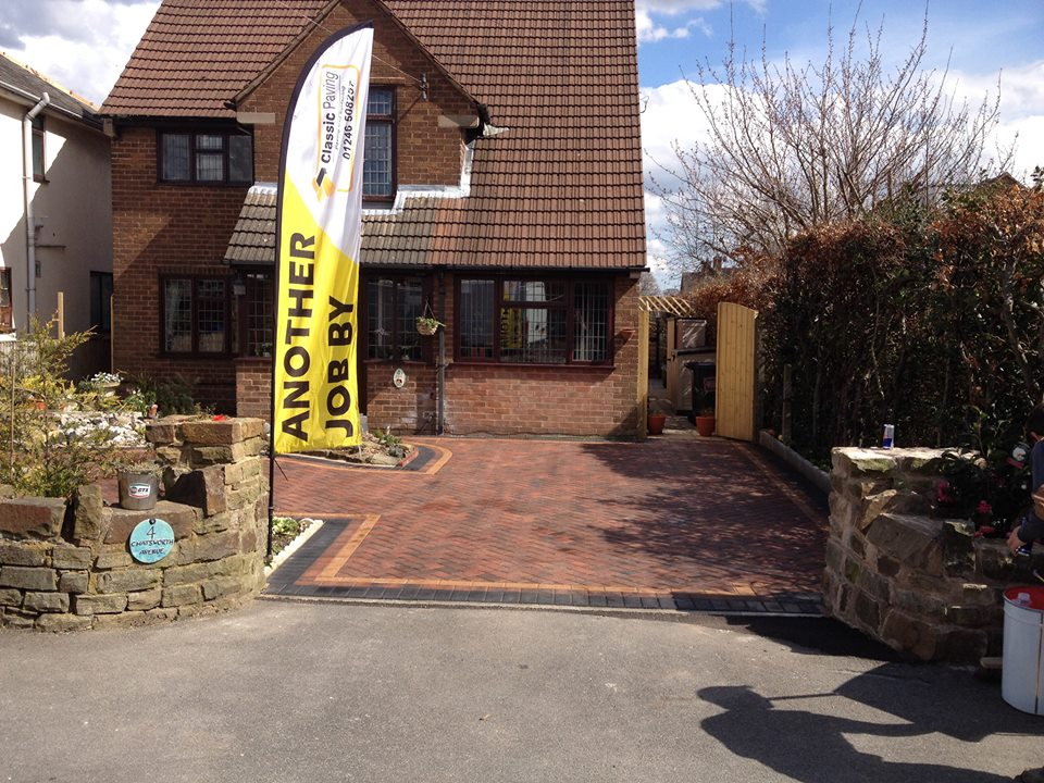 Classic Paving Driveway Installation