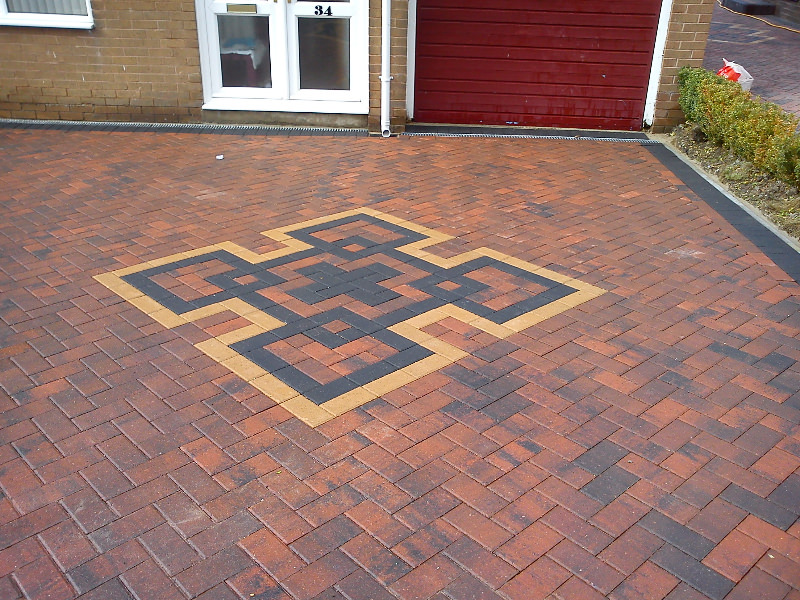 Patterned Block Paving Mansfield